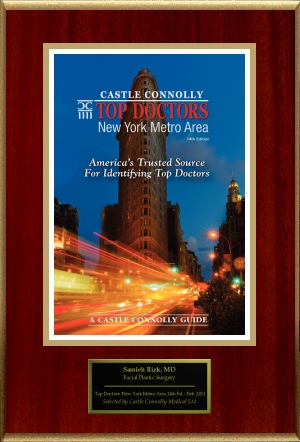 Voted Top Rhinoplasty Surgeon in New York [Castle Connolly Top Doctors 2008-2012