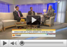 Today Show (NBC) with Mat Laeur on Teenage Rhinoplasty/Plastic Surgery